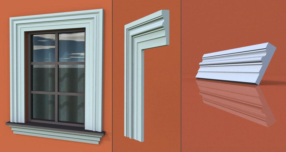 wzór 65 profilu fasadowego opaski
