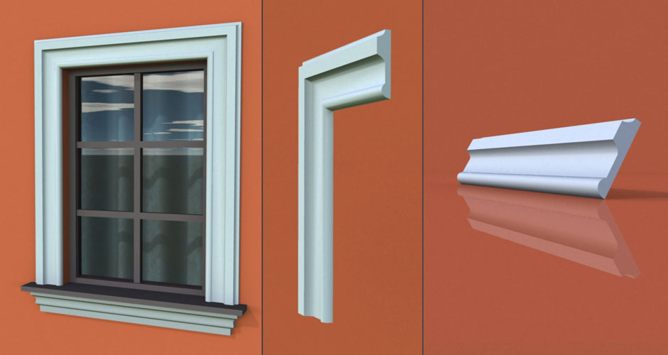 wzór 66 profilu fasadowego opaski