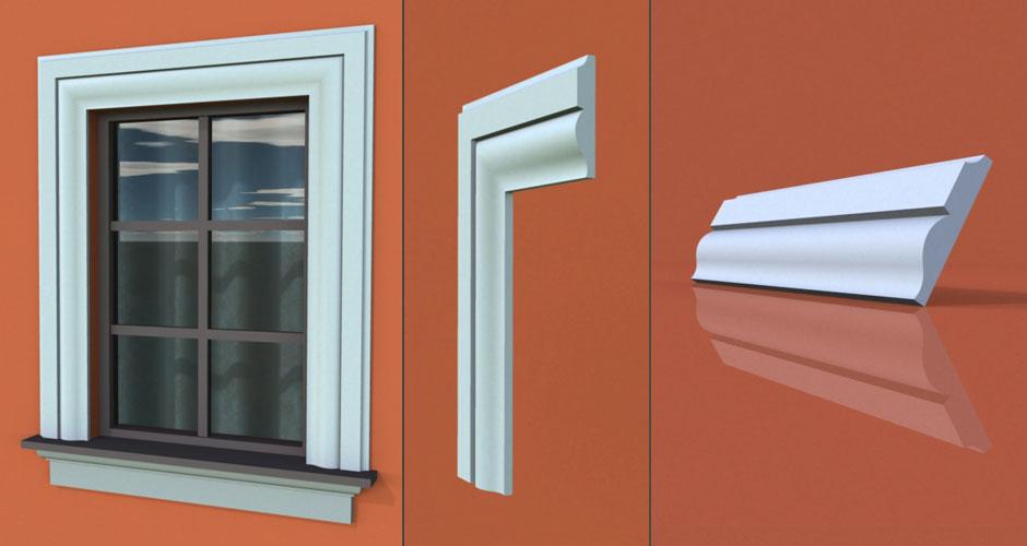 wzór 68 profilu fasadowego opaski