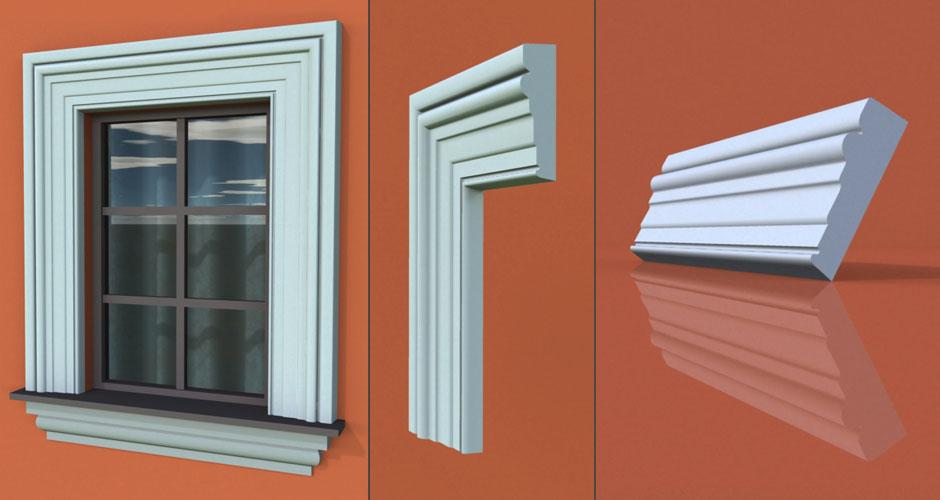 wzór 69 profilu fasadowego opaski