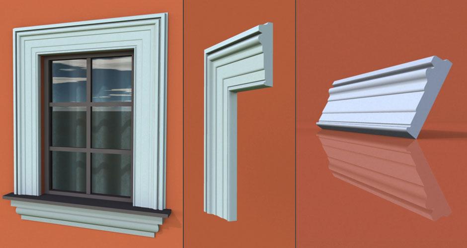 wzór 70 profilu fasadowego opaski