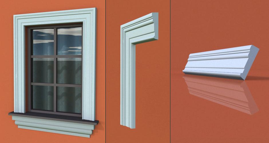 wzór 71 profilu fasadowego opaski