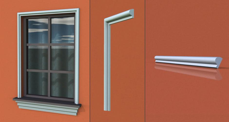 wzór 72 profilu fasadowego opaski
