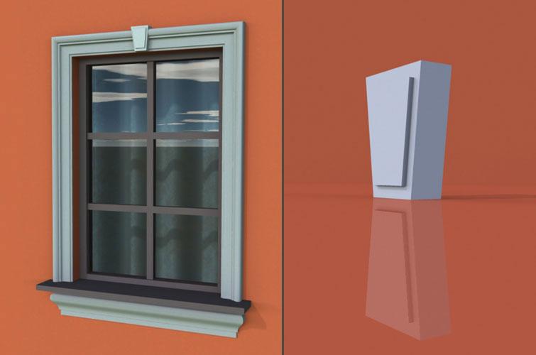 wzór 2 profilu fasadowego zwornika