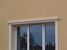 sztukateria okno